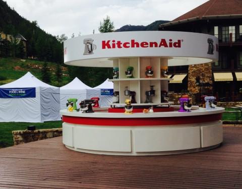 Kitchenaide Booth