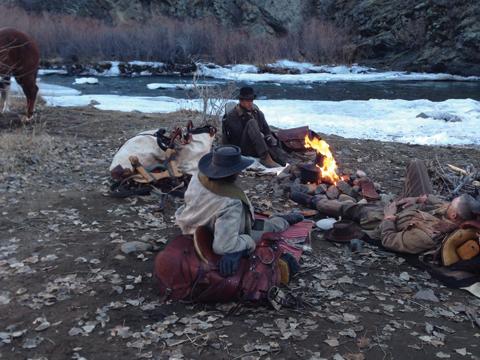 Western – Around Campfire