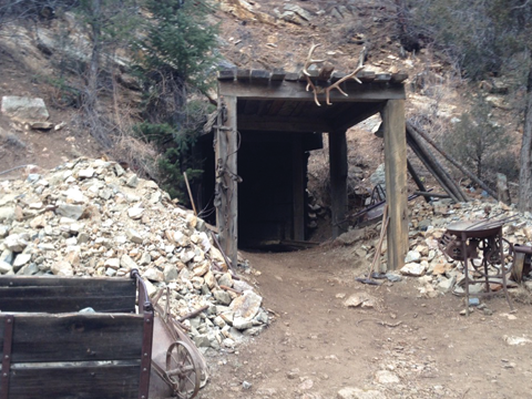 The Mine Entrance
